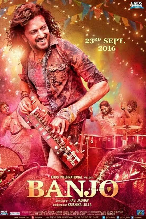 Banjo 2016 Hindi Full Movie Download HD 720p 600MB