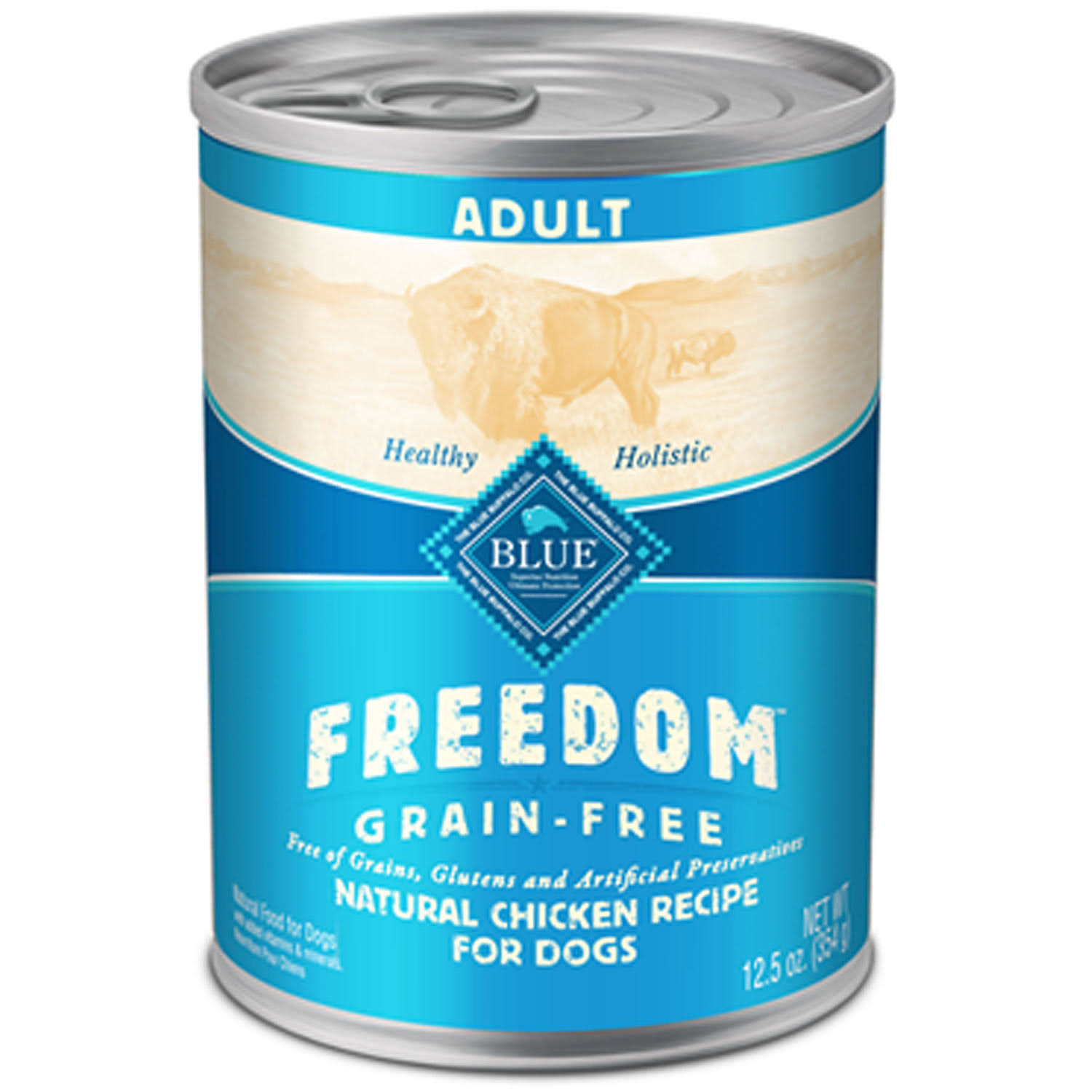 Blue Buffalo Freedom Grain Free for Dogs - Natural Chicken Recipe, 12.5oz
