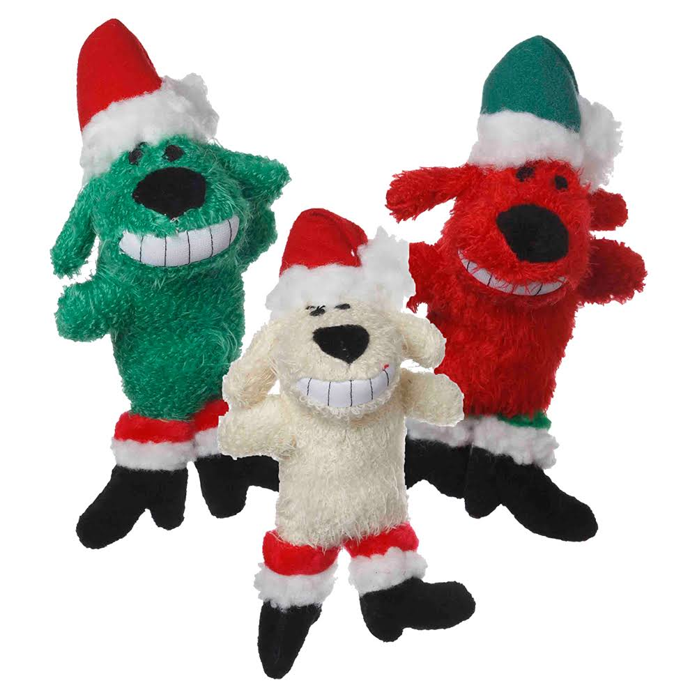 "Multipet 6"" Loofa Santa Dog"