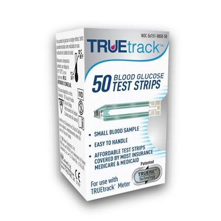 Truetrack Blood Glucose Test Strips