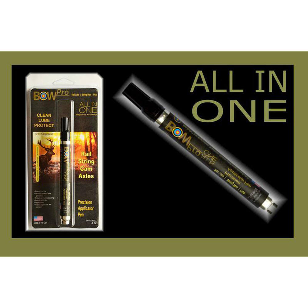 BowPro All In One Lubricant Precision Applicator Pen - .3oz
