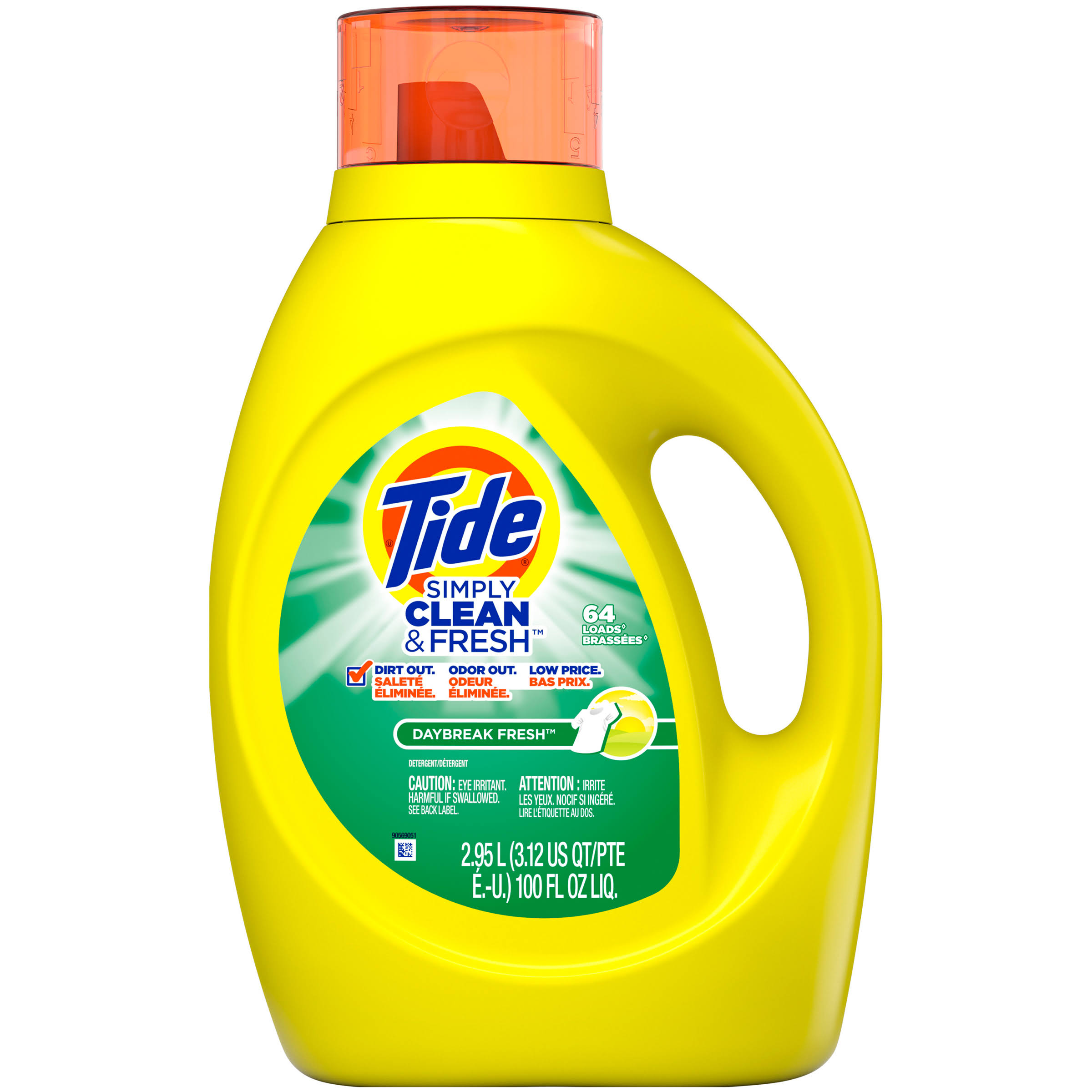 Tide Simply Clean and Fresh Daybreak Fresh Detergent - 64 Loads, 100oz