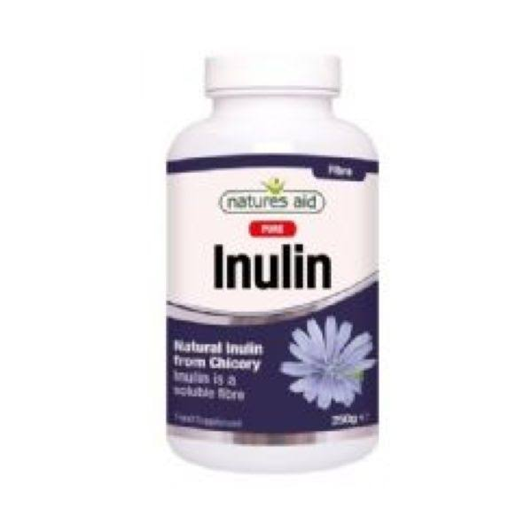Natures Aid Pure Inulin Food Supplement Powder - 250g