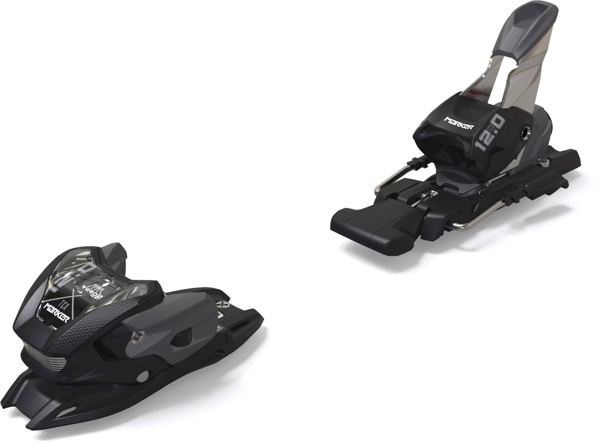 Marker 12.0 TPX Ski Bindings Black 90 mm