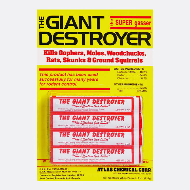 Giant Destroyer Mole And Gopher Killer