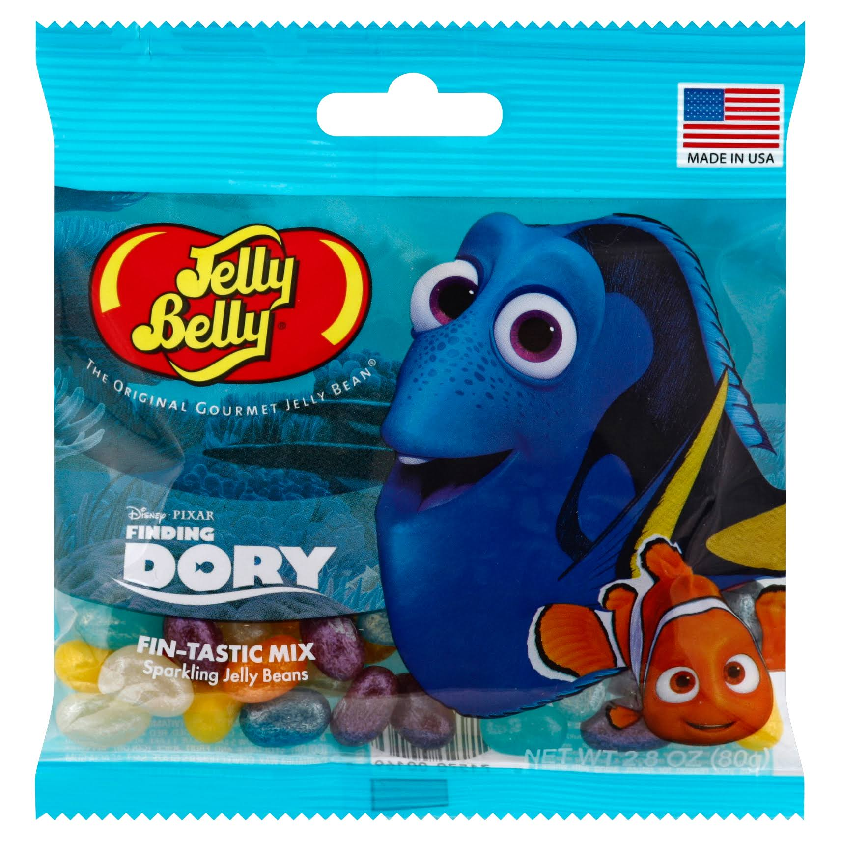 Jelly Belly Finding Dory Fin-tastic Candy Mix - 2.8oz