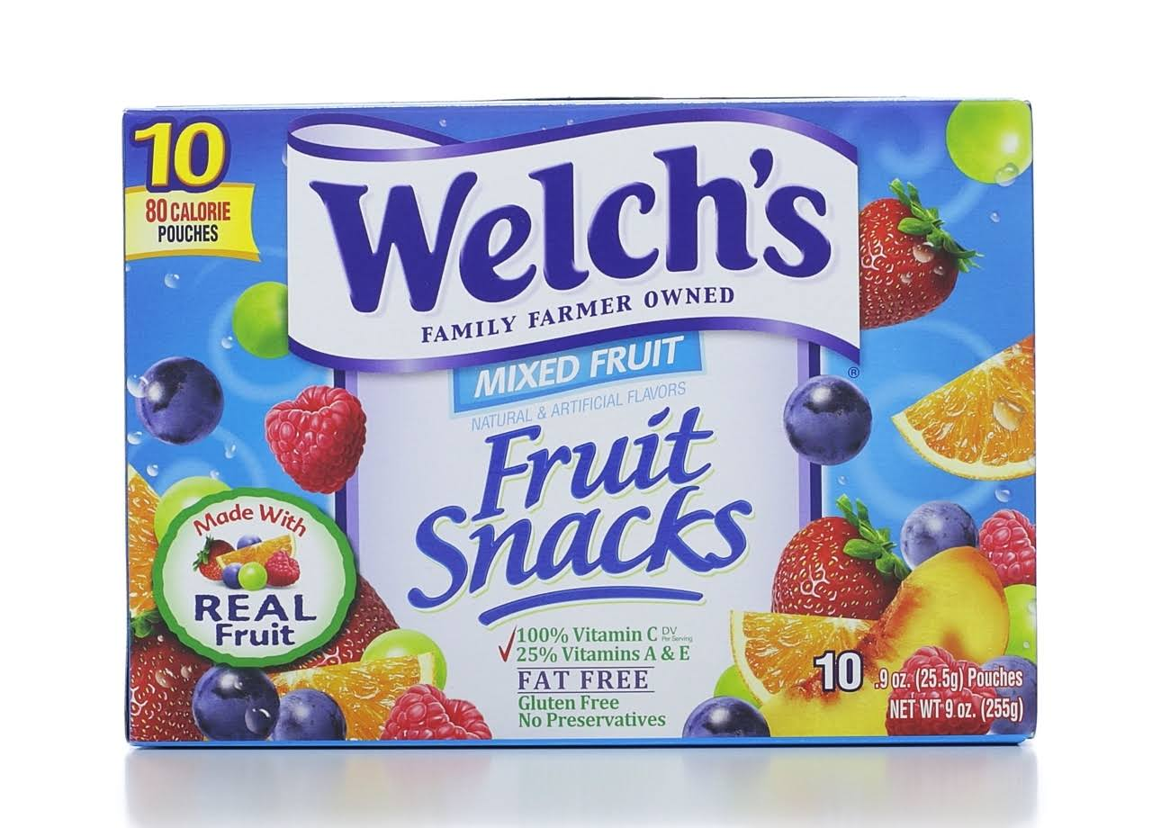 Welch's Mixed Fruit Snacks - 0.9oz, 10ct