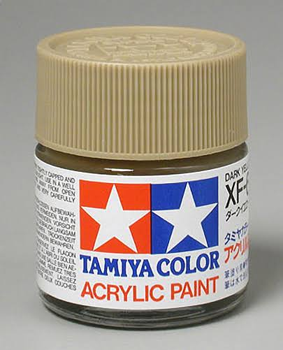 Tamiya Acrylic XF60 Dark Yellow 3/4 oz