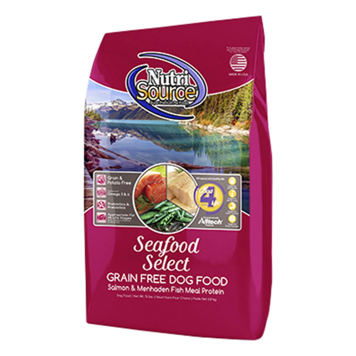 NutriSource Seafood Select Grain Free Dog Food 30 lbs