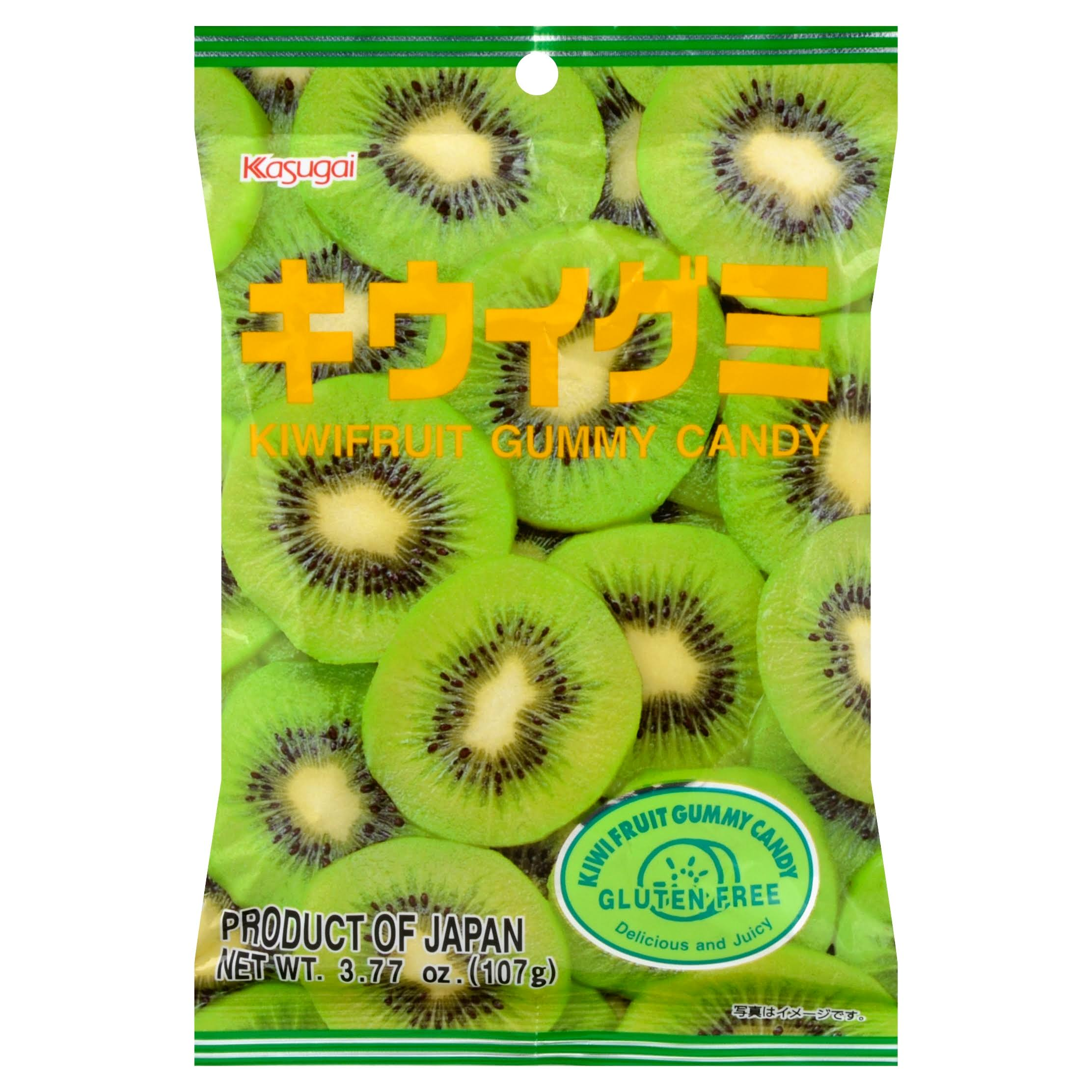 Kasugai Gummy Candy, Kiwifruit - 3.77 oz