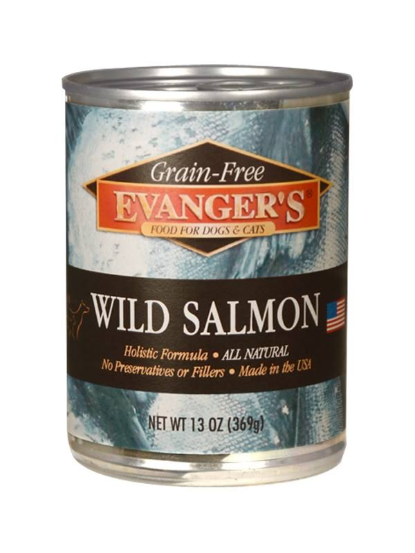 Evanger's Grain Free Dog & Cat Food - Wild Salmon