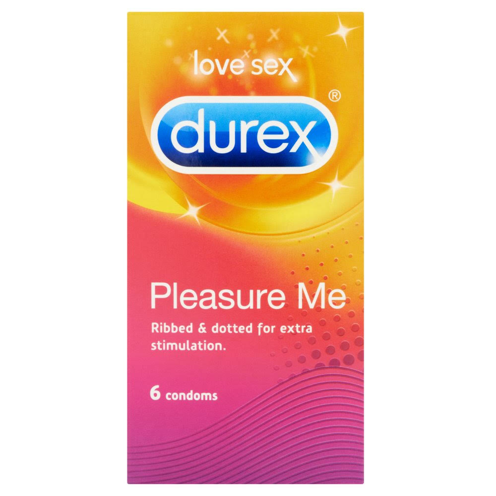 Durex Pleasure Me Condoms - 6pcs