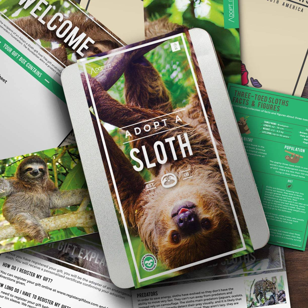 Gift Republic Adopt A Sloth
