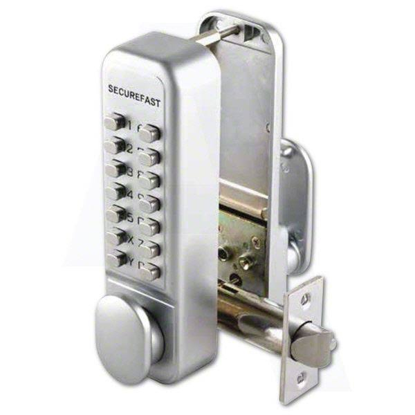 Securefast SBL320 Easy Change Digital Lock with Tubular Latch & Holdback