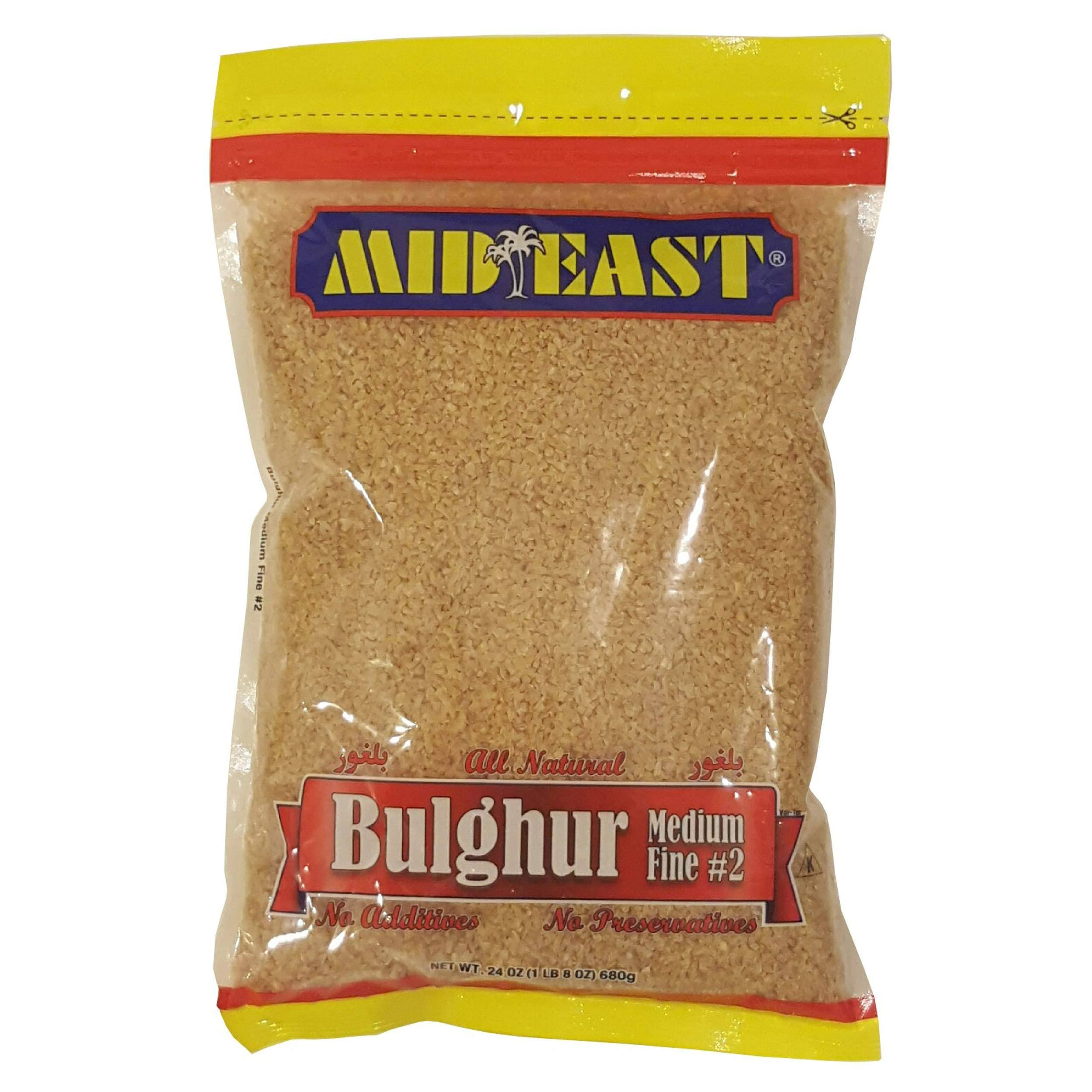 Mid East Bulgur Medium Fine 2