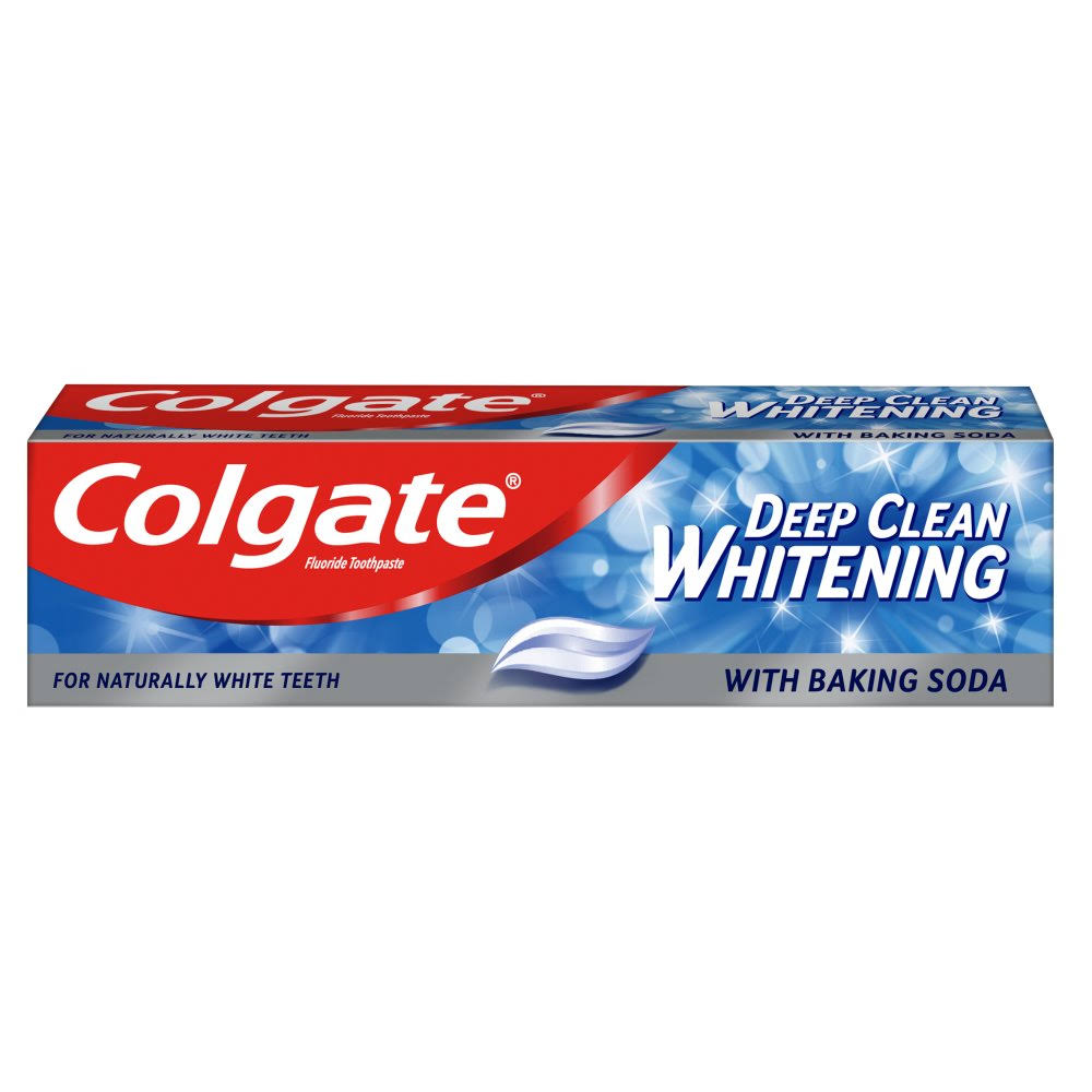 * Colgate Deep Clean Whitening Toothpaste 100ml