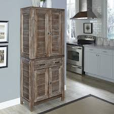Free Standing Kitchen Cabinets Amazon by Amazon Com Home Styles Model 5516 65 Barnside Pantry Kitchen