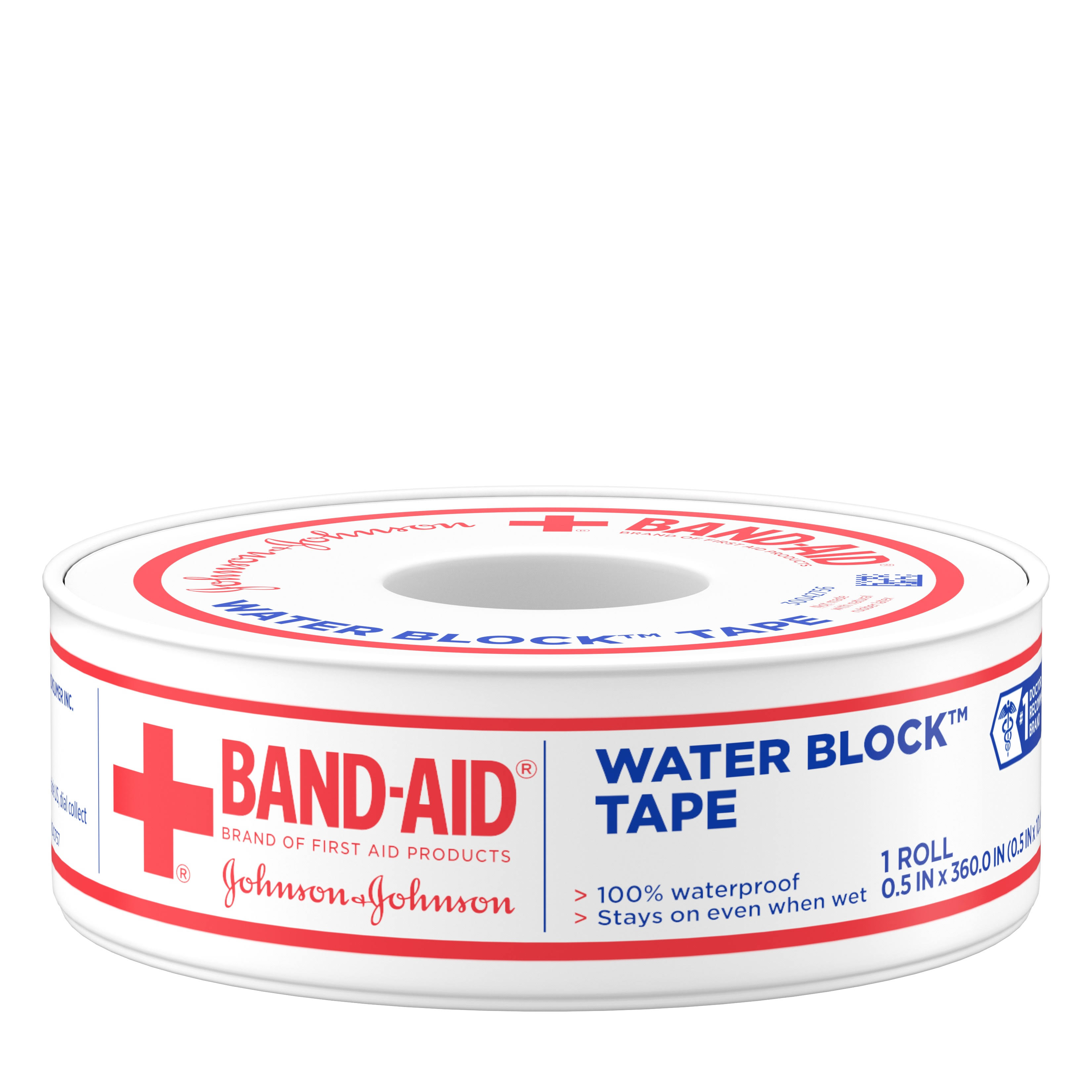 Band Aid Waterproof Tape, High Performance