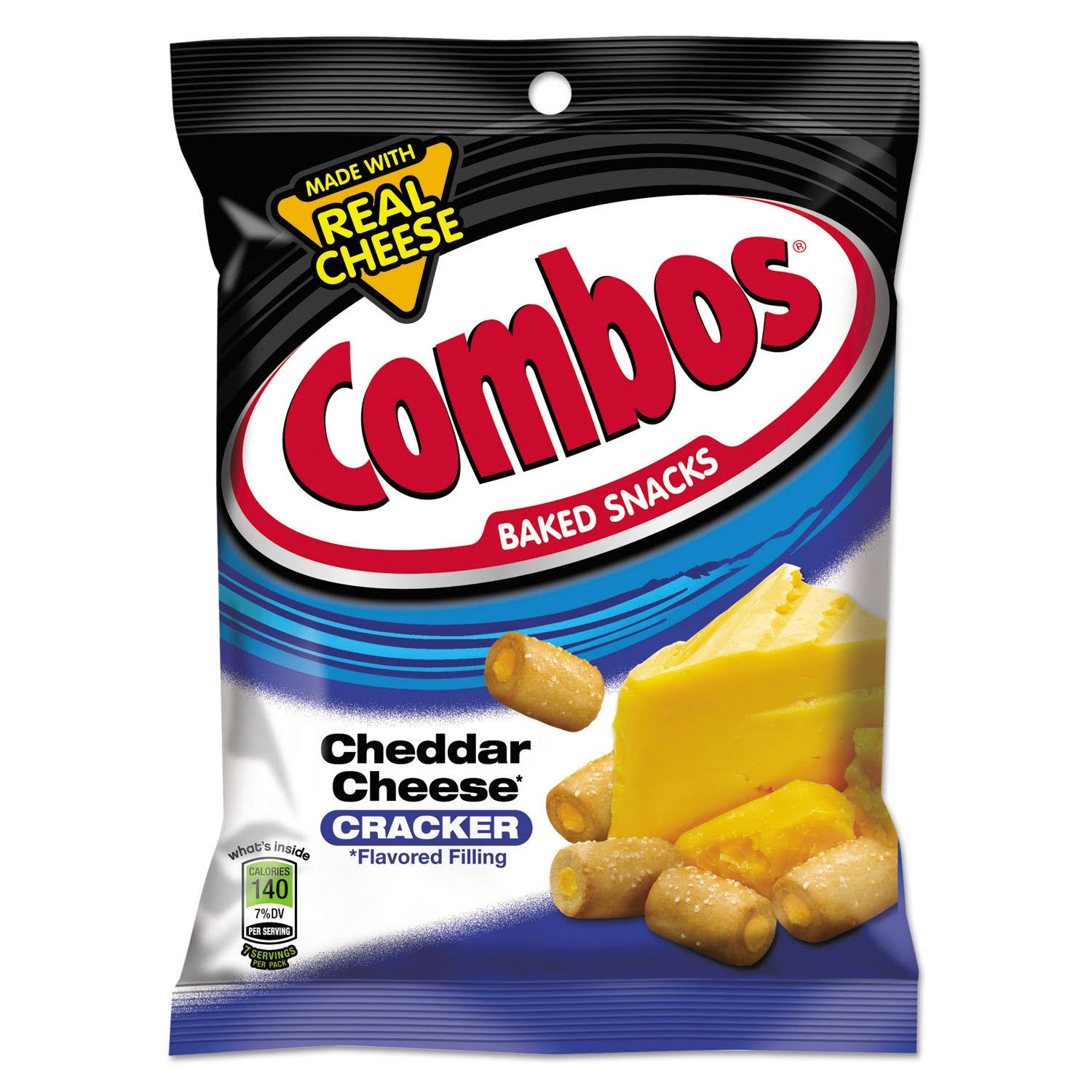 Combos Cheddar Cheese Cracker - 6.3oz