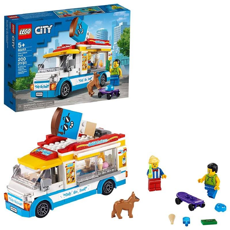 Lego City Ice-Cream Truck Building Set 60253