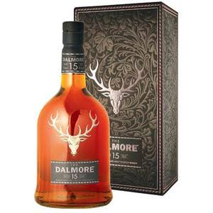 The Dalmore Aged 15 Years Highland Single Malt Scotch Whisky - 70cl