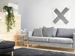 Living Room Ideas Ikea 2015 by Trojmístná Pohovka Karlstad Se šedým Potahem Isunda A Odkládací