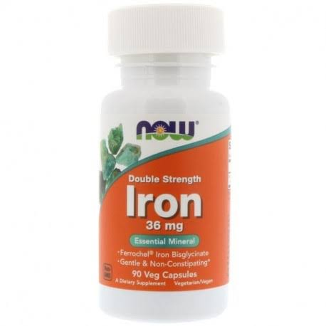 Now Foods Iron Bisglycinate Capsules - 90 Count