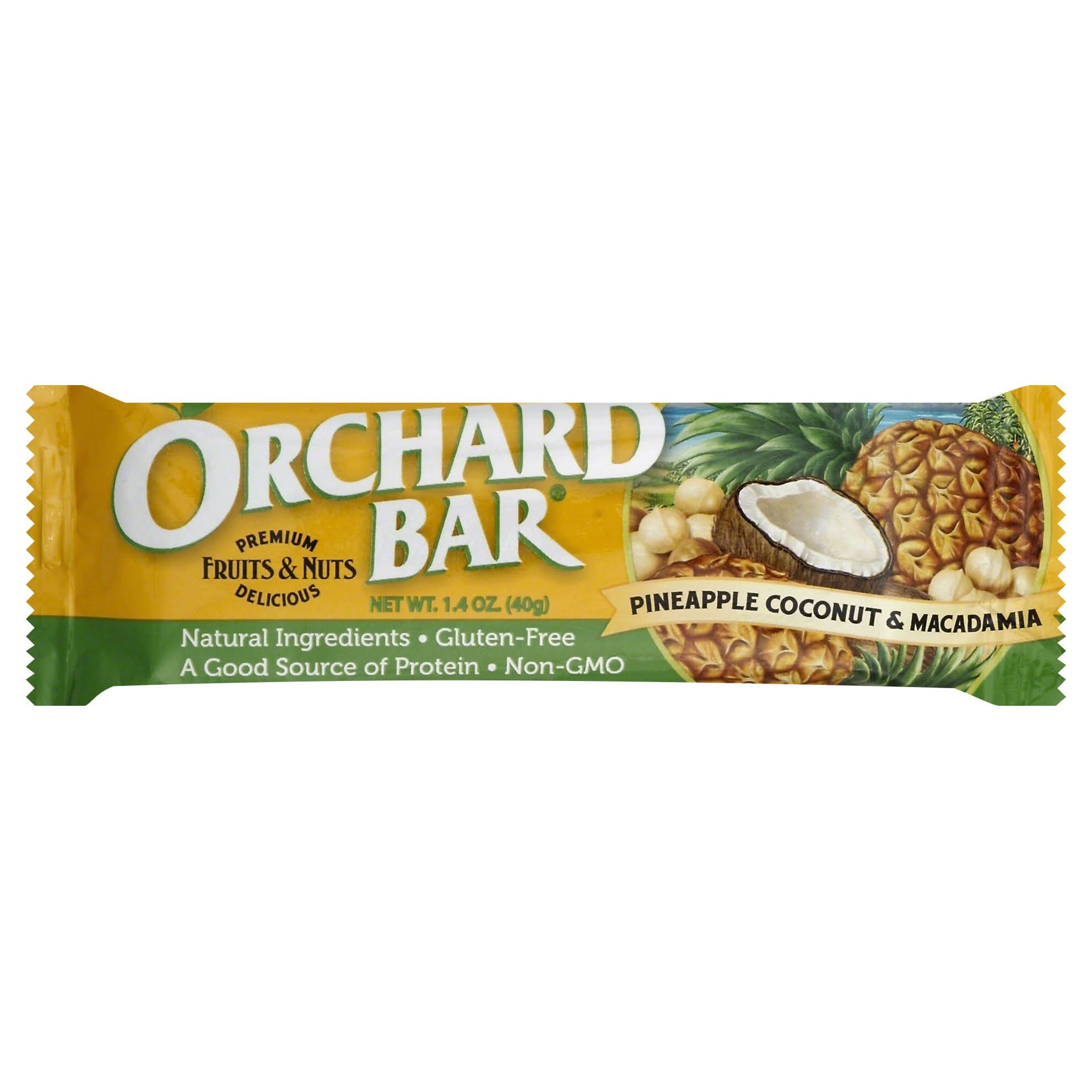 Orchard Bar Pineapple Coconut Macadamia Bars - 1.6 Oz