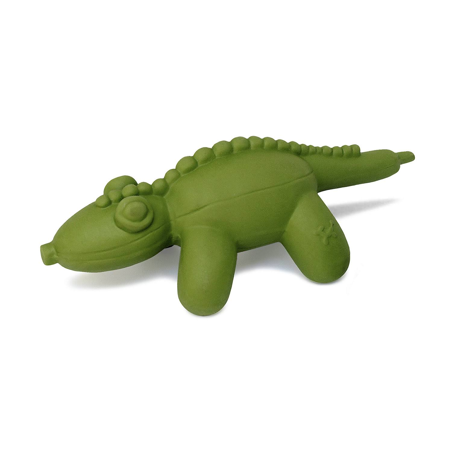 Charming Pet Products Cq00846 All-Natural Latex Gator Balloon Dog Toy - Large