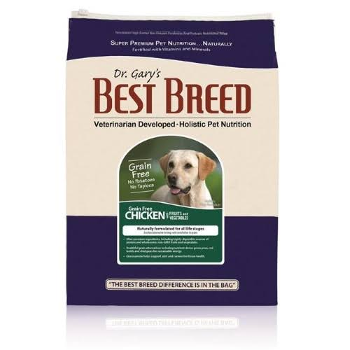 Dr. Gary's Best Breed Grain Free Holistic Chicken with Fruits & Vegetables Dry Dog Food 15-lb