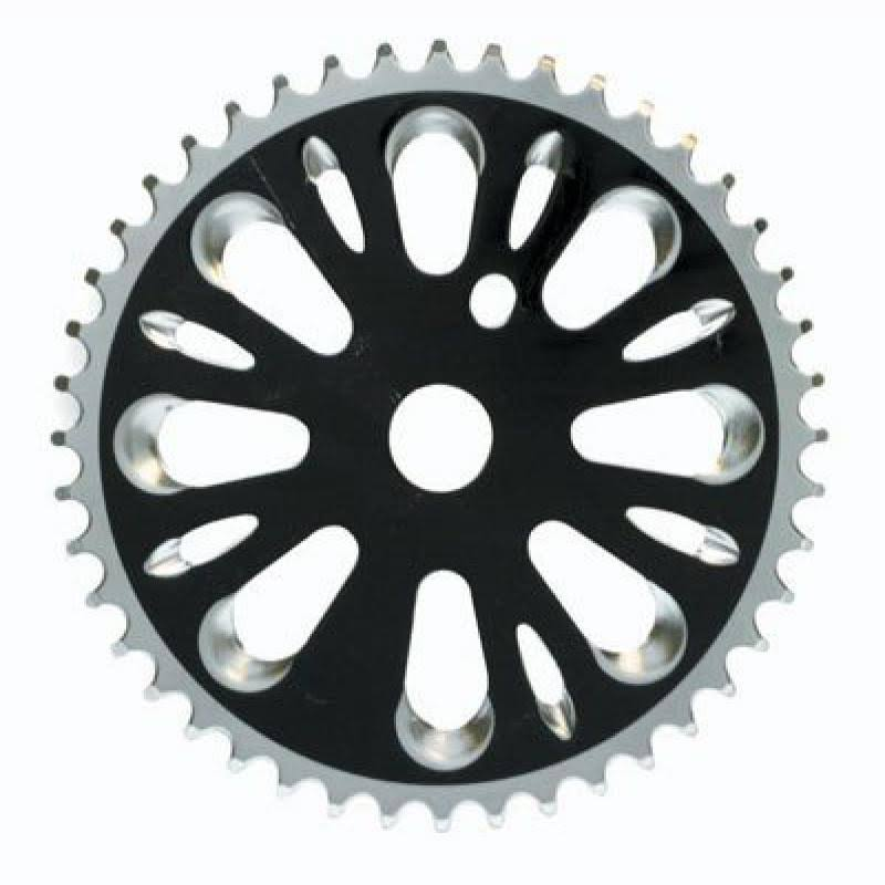 Black Ops Chainring - 44T, 3/32, Steel, Black