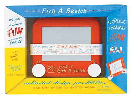 Spinmaster Mini Etch-A-Sketch