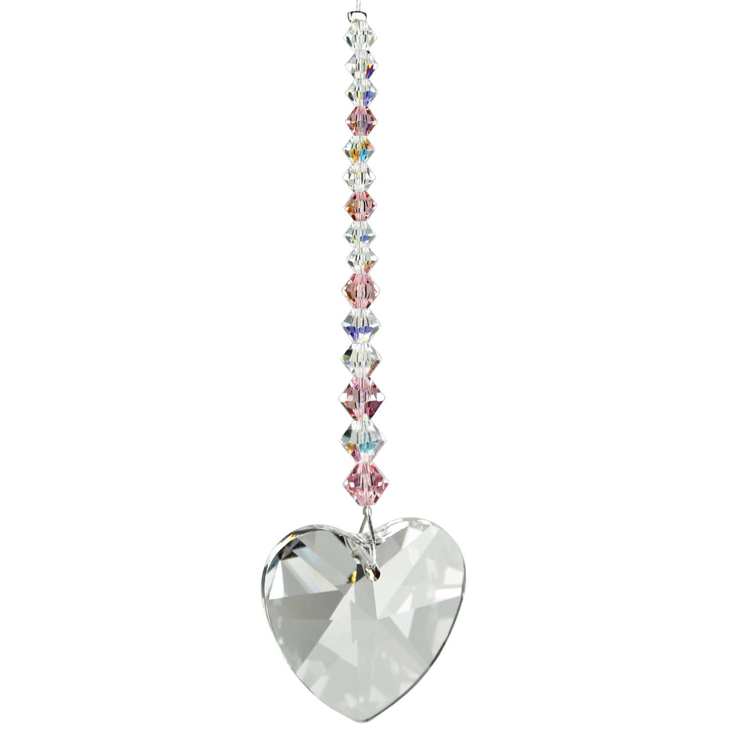 Woodstock Pink Heart Crystal Daydreams - Rainbow Maker Collection