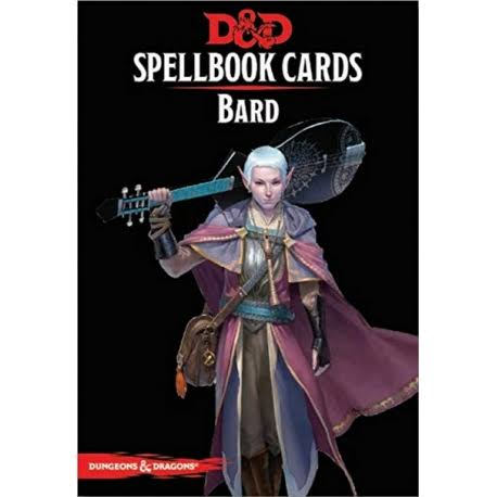Dungeons and Dragons: Bard Spellbook Cards - 128ct