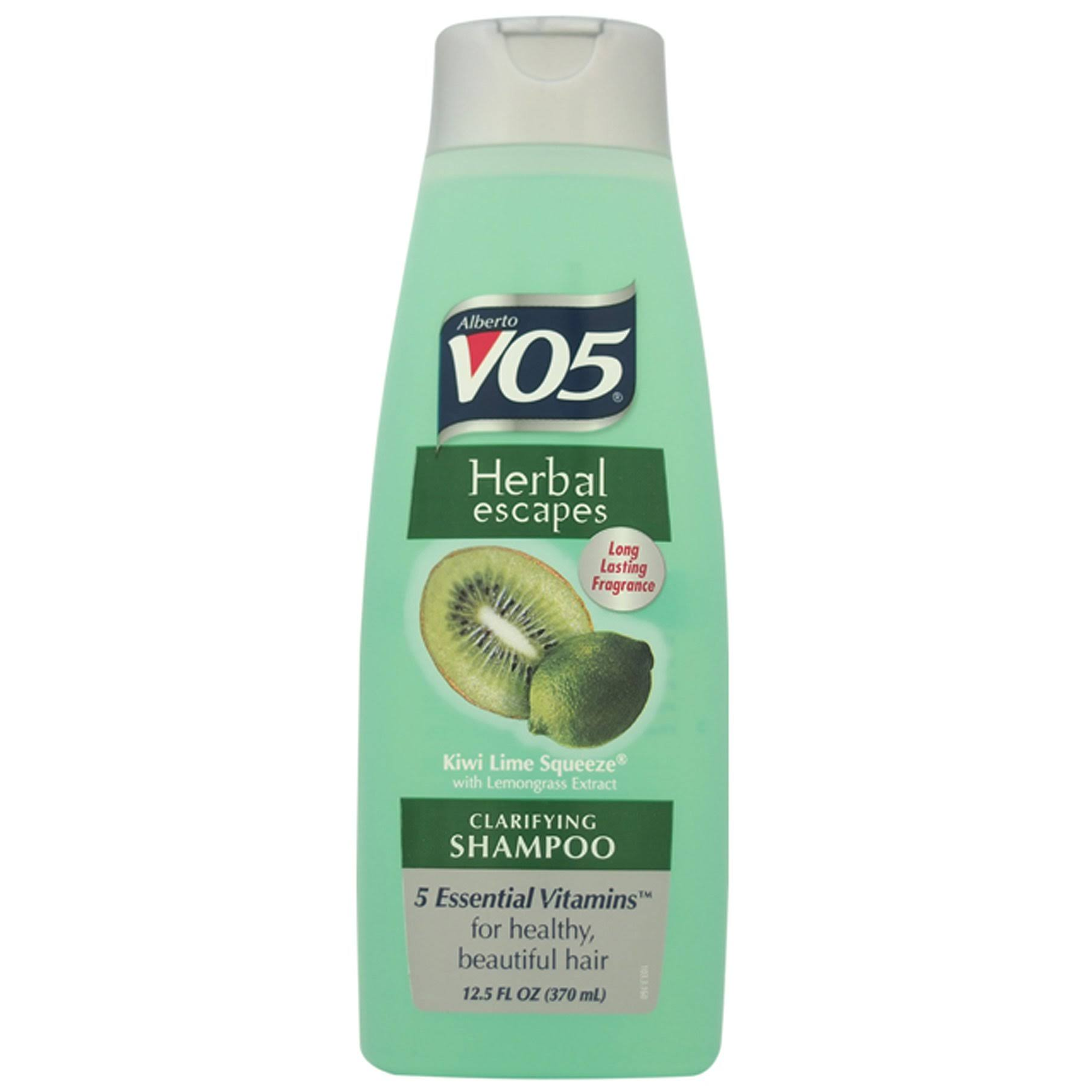 Alberto VO5 Herbal Escapes Clarifying Shampoo - Kiwi Lime Squeeze, 370ml