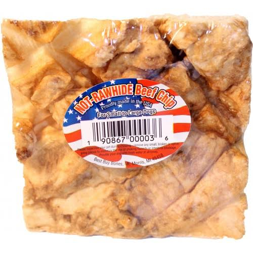 Best Buy Bones - USA Not-rawhide Beef Chip - Beef Small