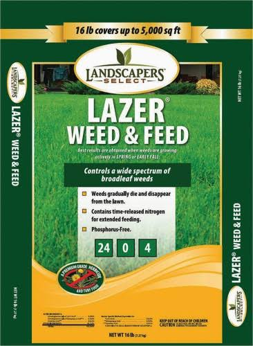 Turfcare Landscapers Select Lawn Lazer Weed and Feed
