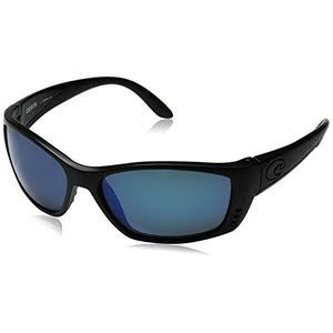 Costa Del Mar Fisch Blackout Polarized Sunglasses - Blue Mirror Lens