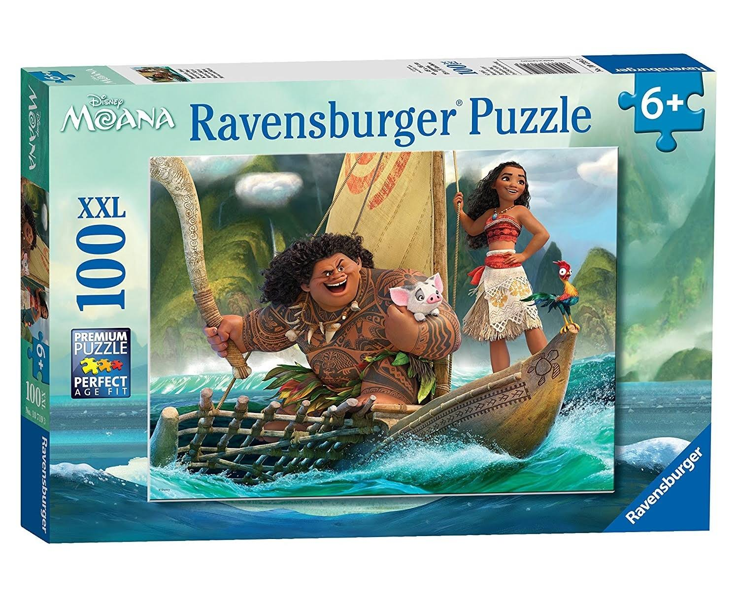Ravensburger Disney Moana Puzzle - 100 Pieces