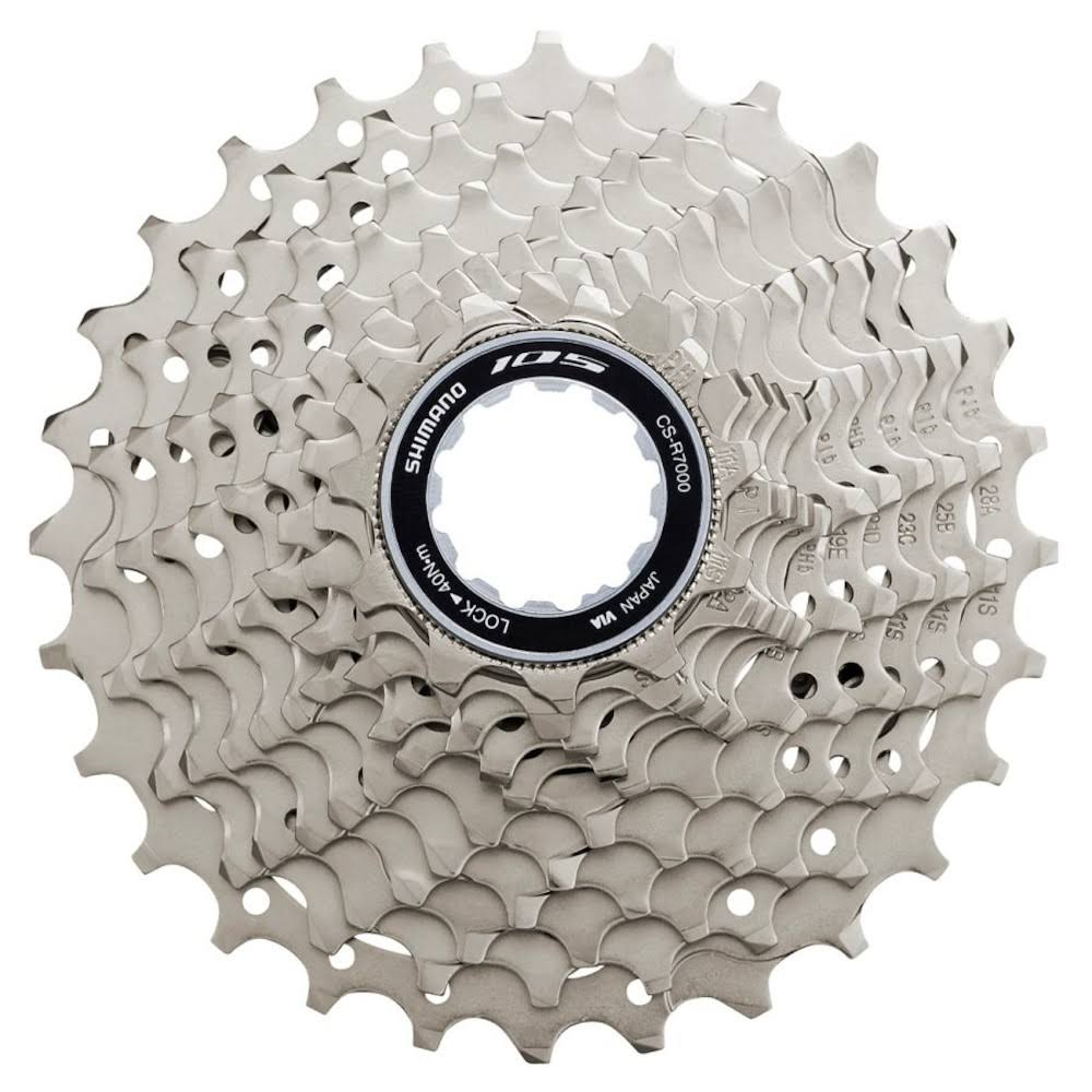 Shimano 105 Cs r7000 Cassette - Silver, 11 Speed