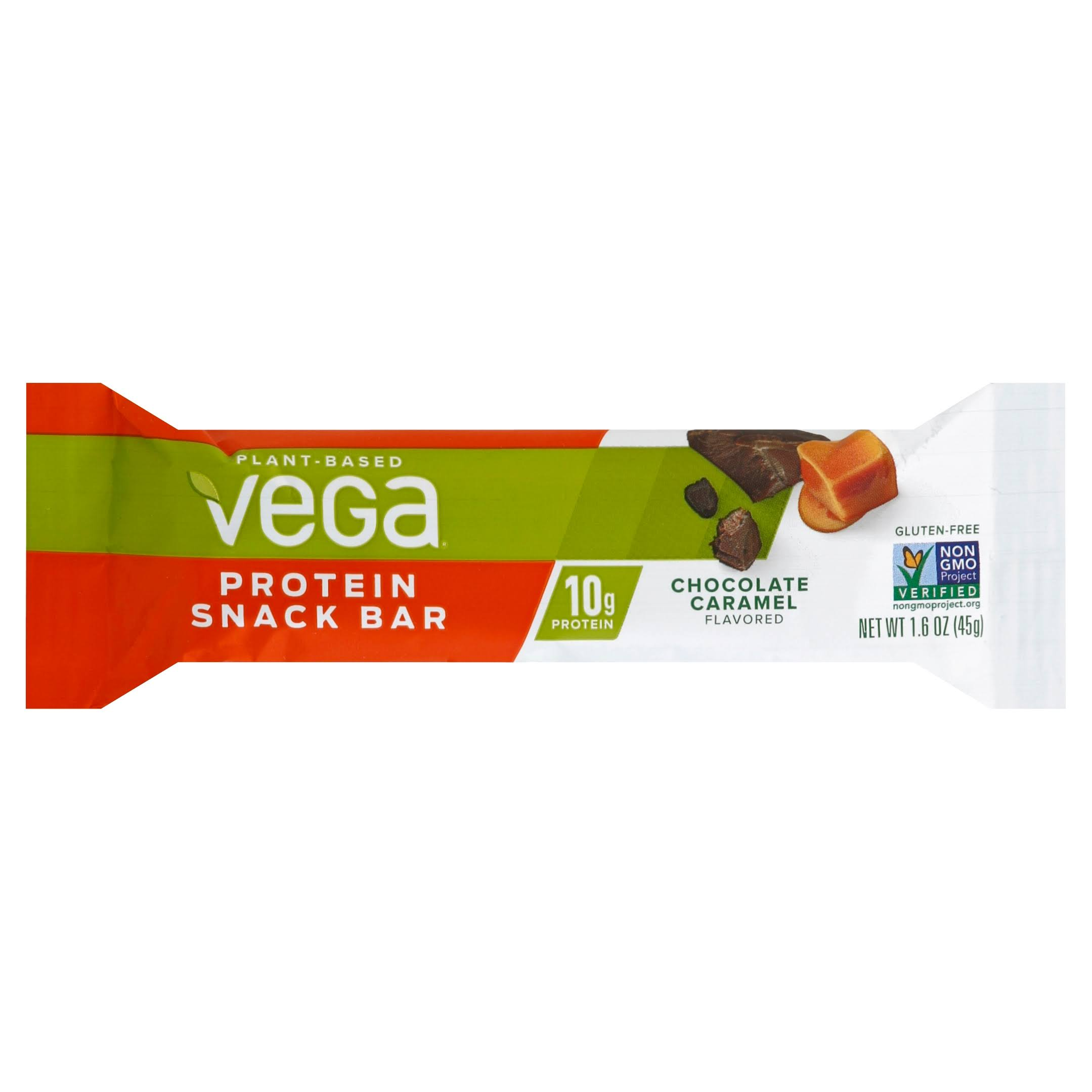Vega Protein Snack Bar, Chocolate Caramel Flavored - 1.6 oz