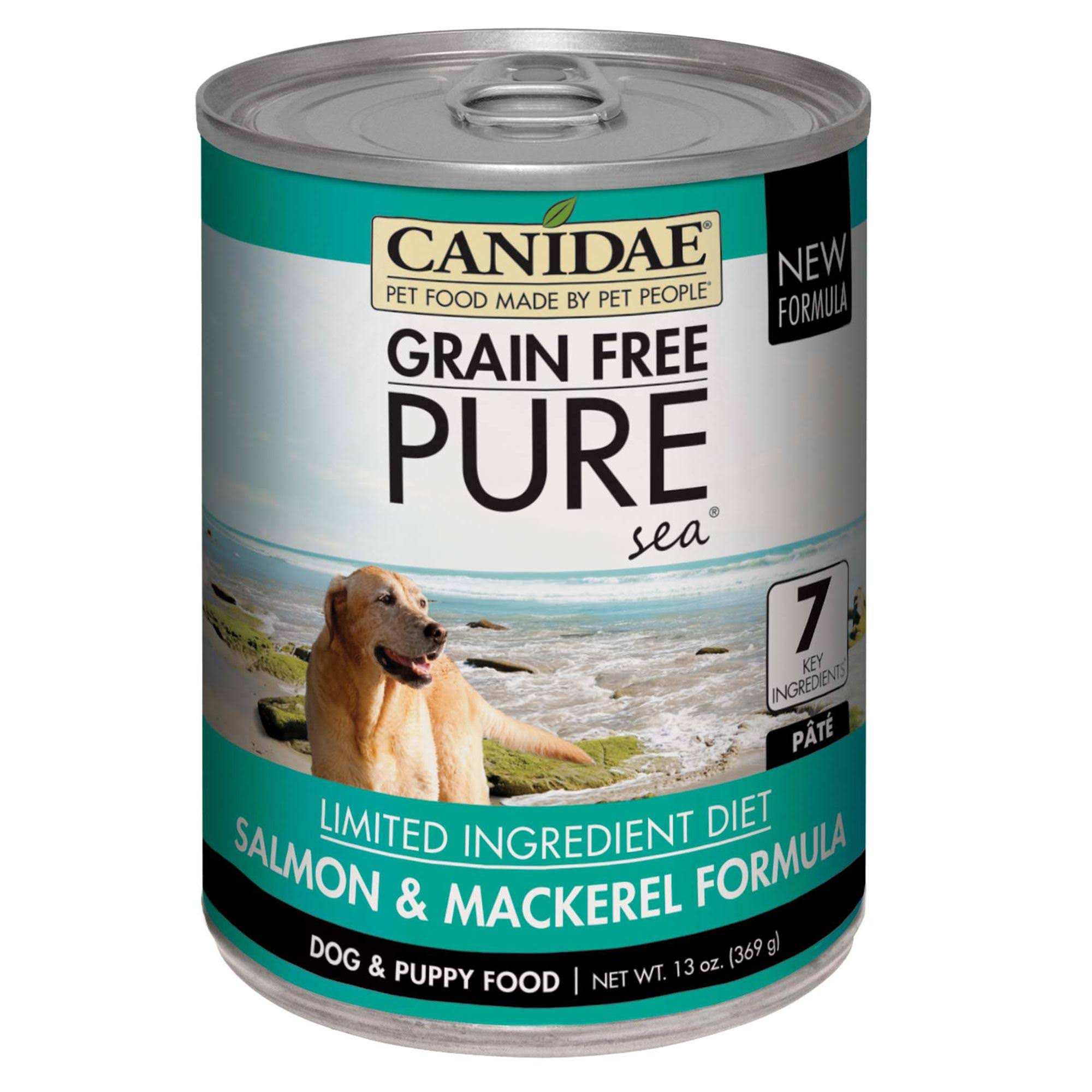 Canidae Grain Free Pure Sea Salmon & Mackerel Canned Dog Food