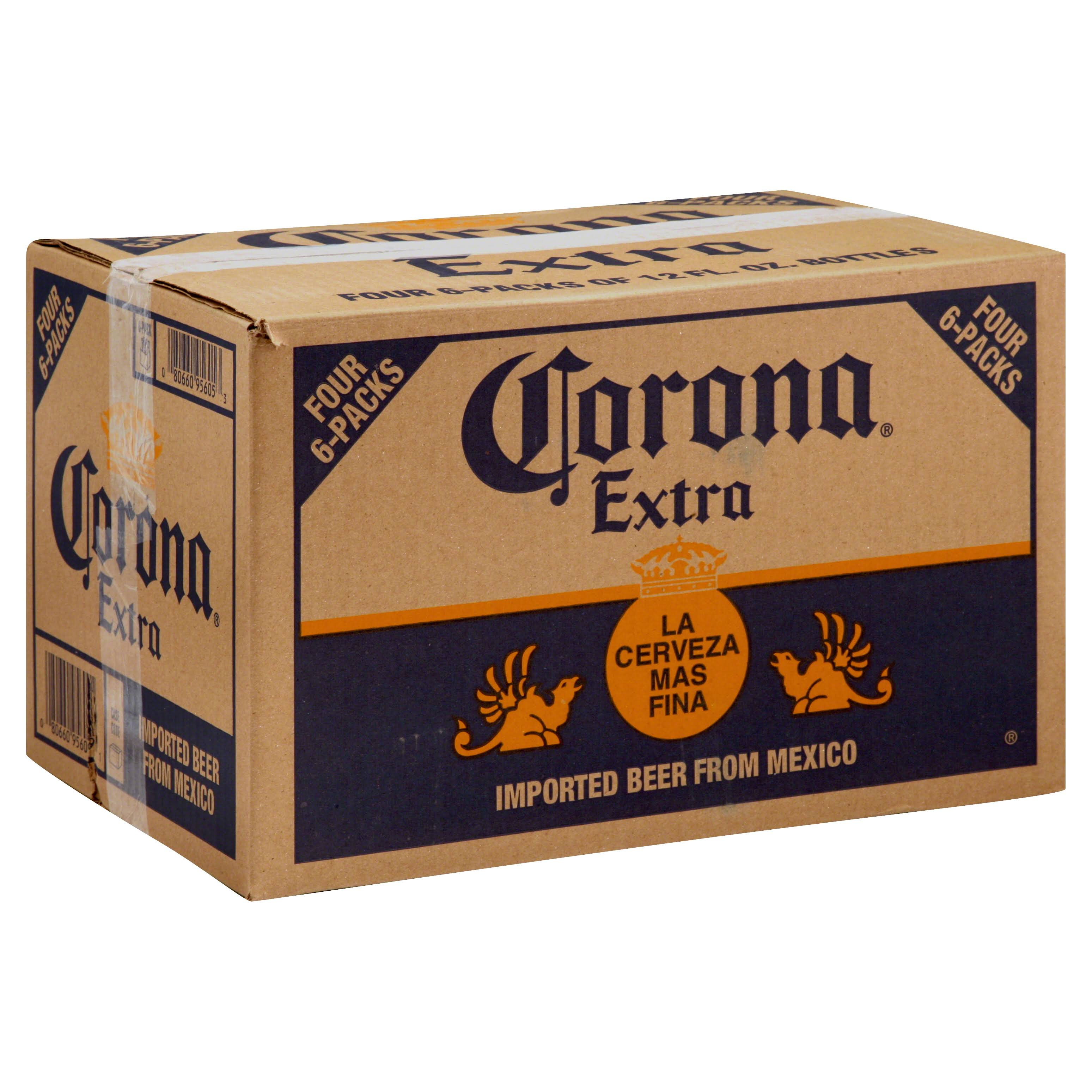 Corona Extra Beer - 4 - 6 packs