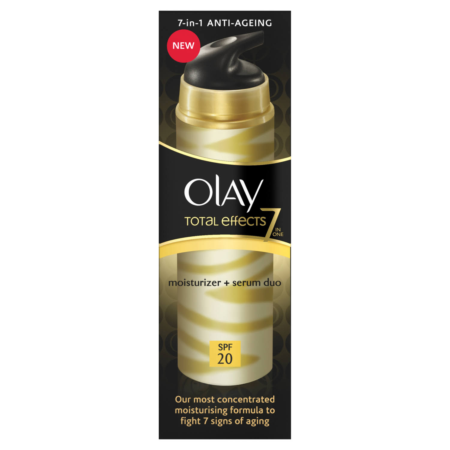 Olay Total Effects Anti-Ageing SPF 20 Moisturiser And Serum Duo - 40ml