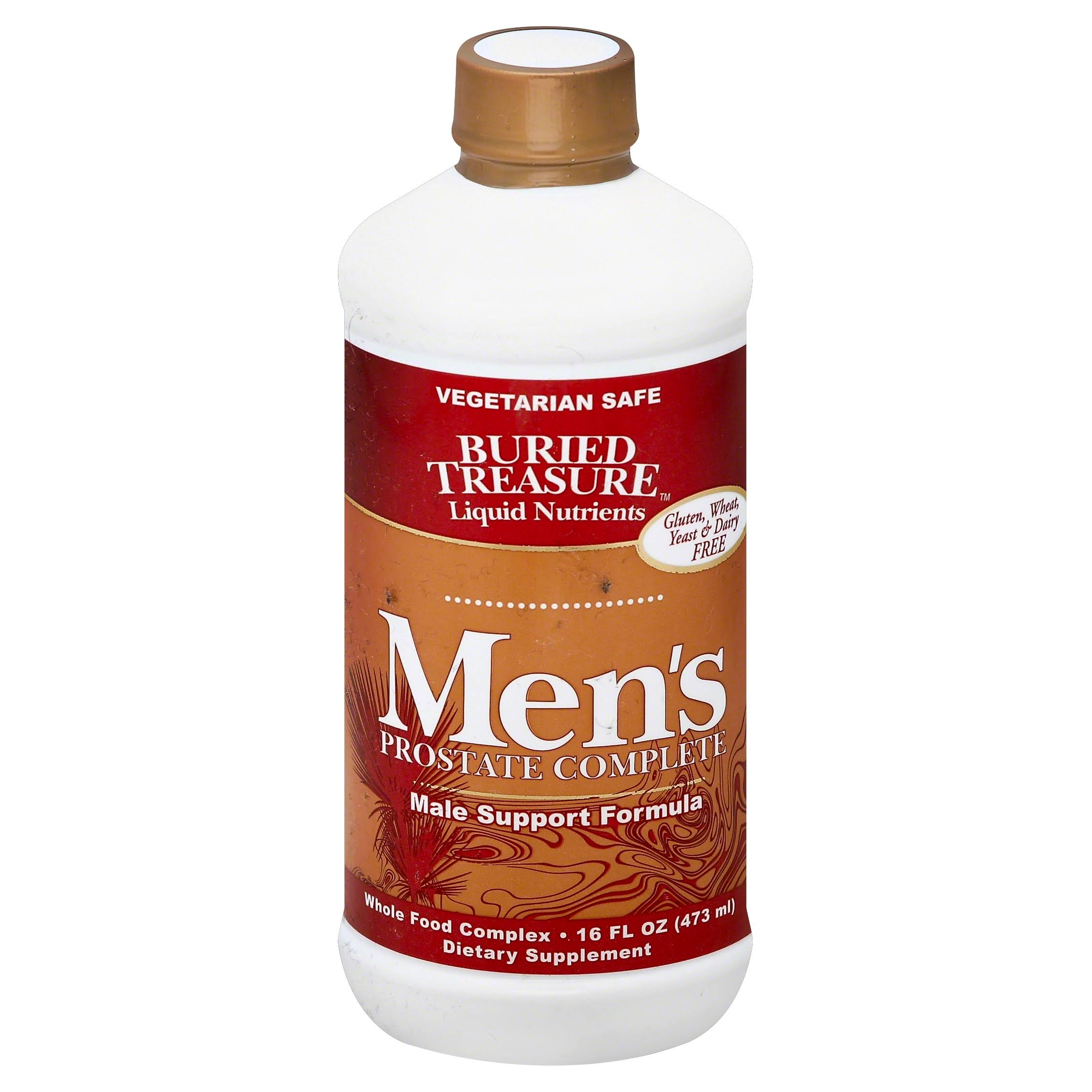 Buried Treasure Mens Prostate Complete Male Support Formula - 16oz