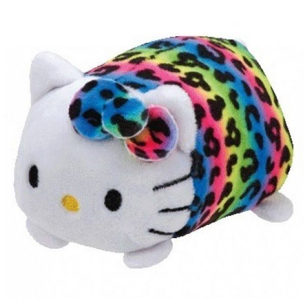 Ty Teeny Hello Kitty Beanie Babies Plush Toy - Rainbow