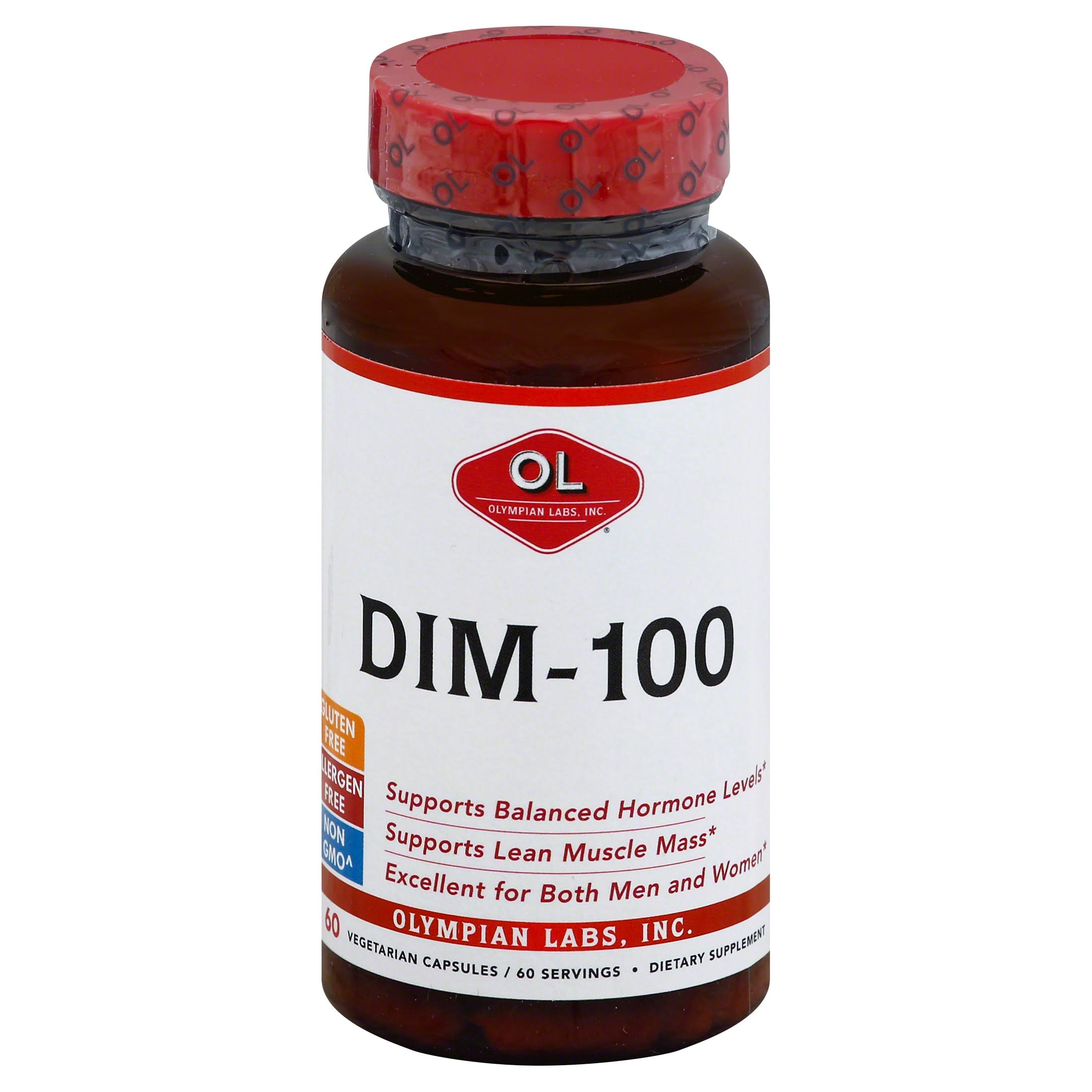 Olympian Labs Dim Dietary Supplement - 100mg, 60ct