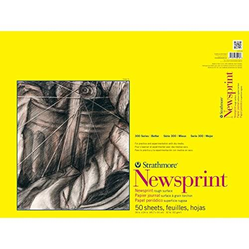 Strathmore Newsprint Paper Pad - 50 Sheets