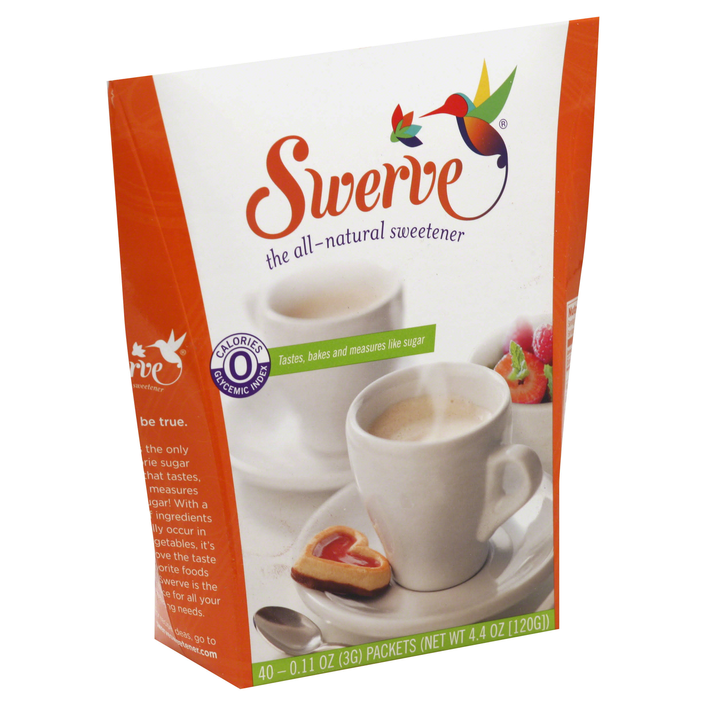 Swerve Sweetener Packets - 40 Packets