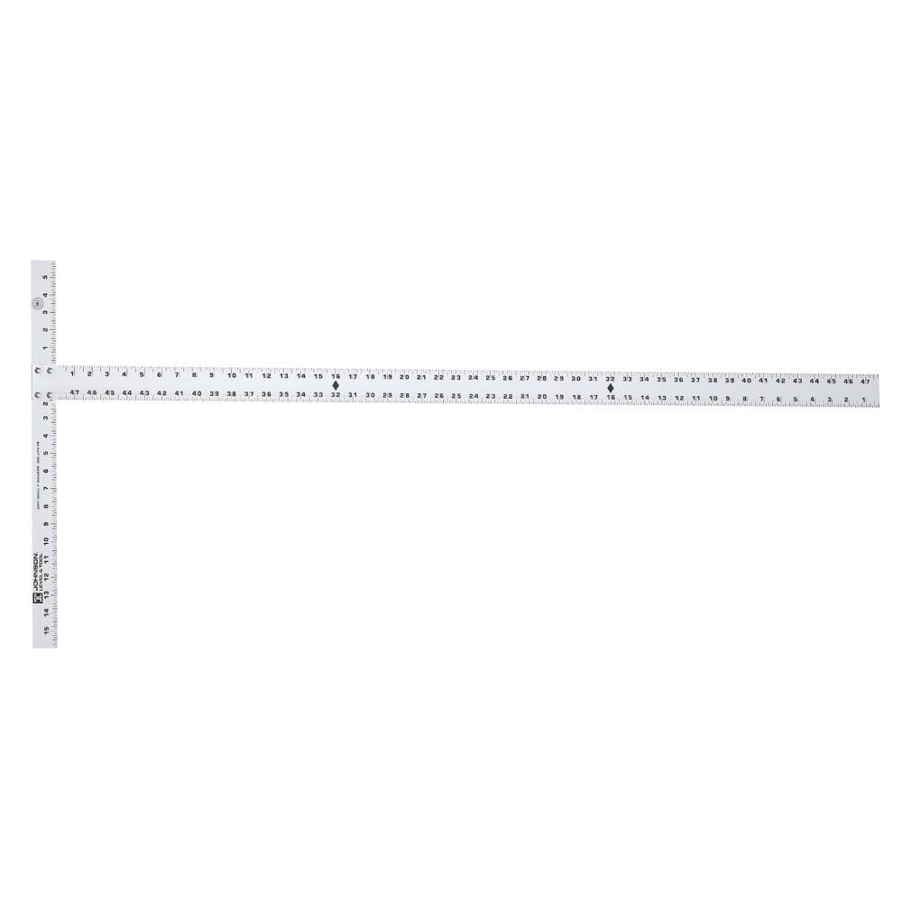 Johnson Level and Tool JTS48 Aluminum Drywall T-Square - 48""